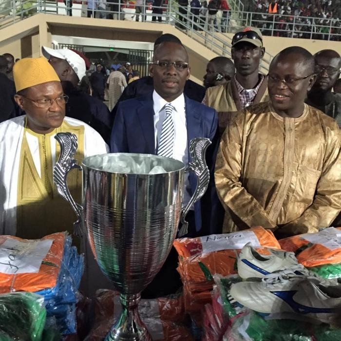 FOOTBALL : La Coupe du Maire de Louga remportée dimanche par le MARBATH face au JAKARLO