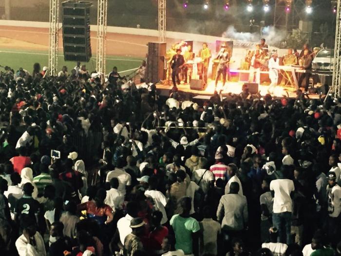 Wally Ballago Seck a enflammé le stade Alboury Ndiaye de Louga (IMAGES)