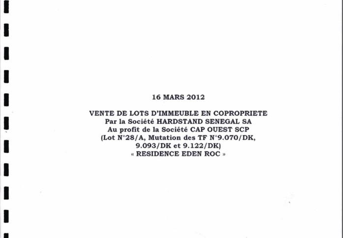 Voici un document relatif aux biens immobiliers de Bibo Bourgi!
