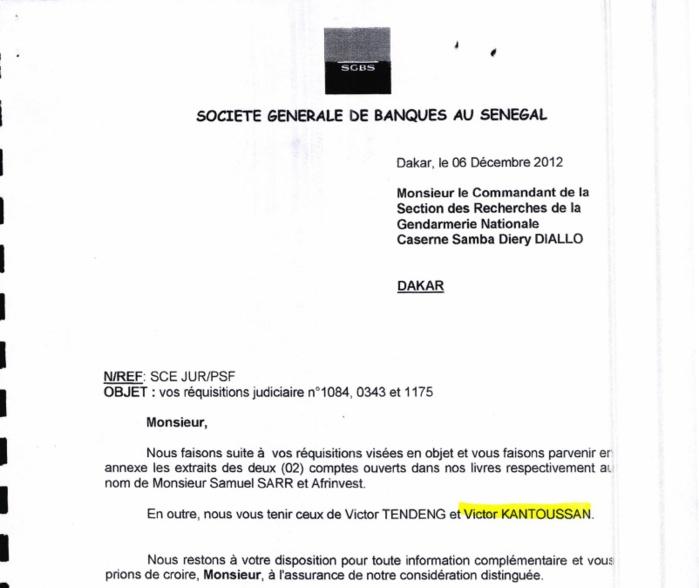 Exclusive : Les relevés de compte des hommes de confiance de Karim Wade!