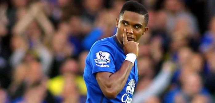 Everton : Eto'o sur le départ, selon Martinez