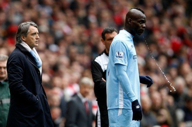 """Mancini sur Balotelli : """"Mon seul espoir est qu'il se réveille un matin et réalise qu'il est en train de tout foutre en l'air."""""""
