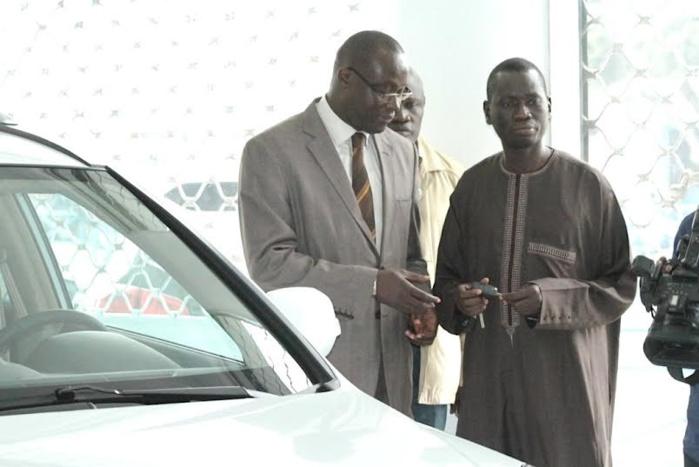 CCBM : Remise des clés des véhicules destinés à la Fédération Sénégalaise de Football (FSF)