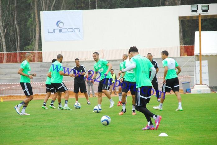 """Les images de la première séance d'entrainements des """"Fenecs"""" d'Algérie"""