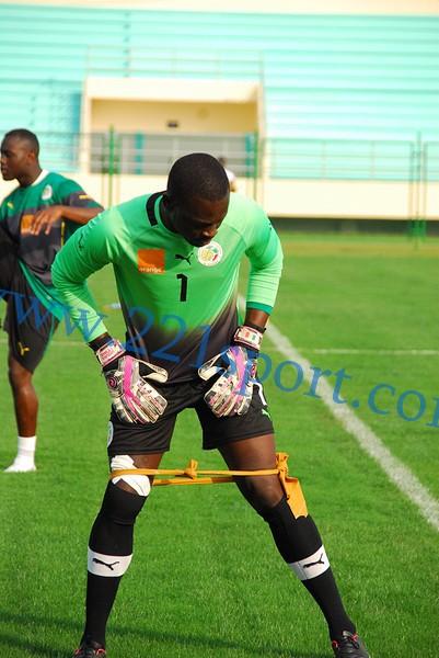 """CAN 2015 : Première séance d'entrainement des """"Lions"""" du Sénégal"""