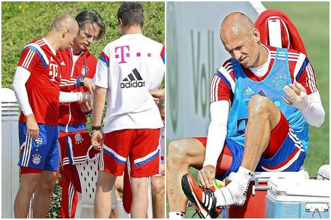 Robben se fait mordre par un crocodile !