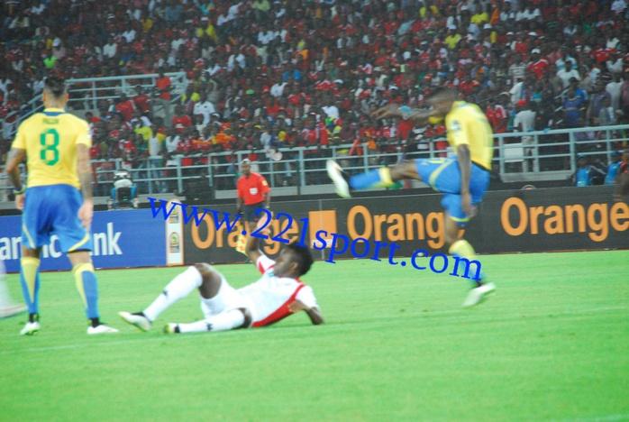 CAN 2015 : Les images du match Gabon vs Burkina Faso