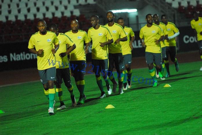 Les images de la dernière séance d'entraînement des Bafana Bafana d'Afrique du Sud
