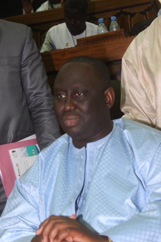 Discours de ALIOU SALL, le nouveau Président de l'Association des Maires du Sénégal (AMS)
