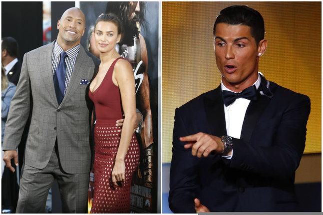 Irina Shayk aurait largué Cristiano Ronaldo pour l'ancien catcheur devenu acteur...