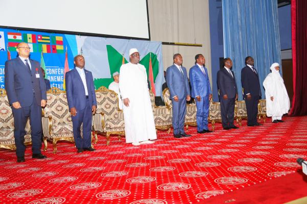 Les images du sommet de l'Uemoa à Cotonou au Bénin