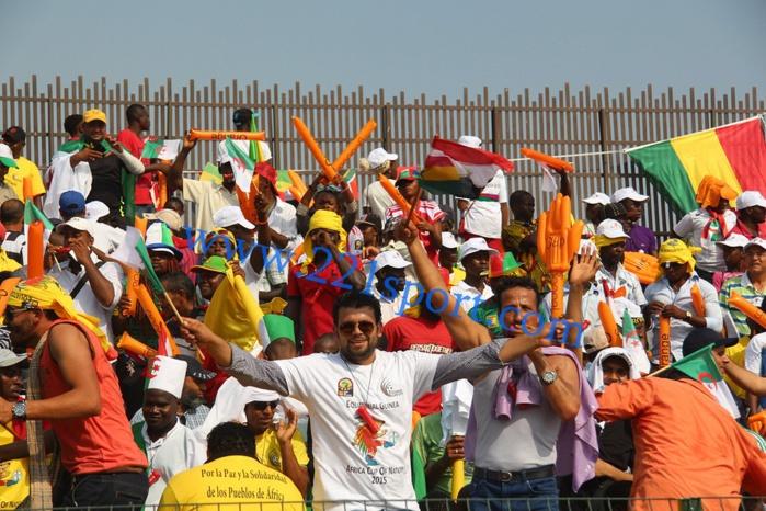 Mongomo : les images d'avant match Sénégal-Ghana