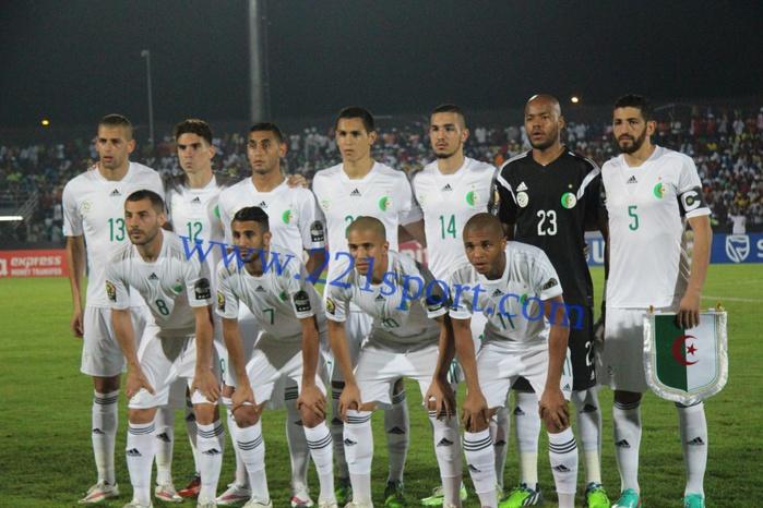 Les images du match Algerie vs Afrique du sud