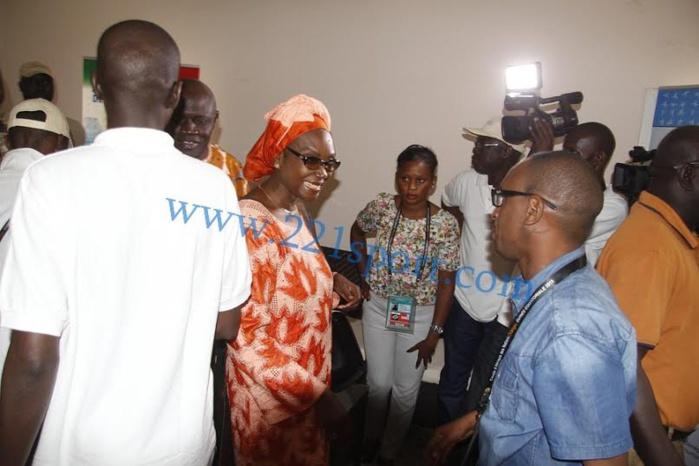 Les images de la visite de la délégation gouvernementale à la maison de la presse sénégalaise