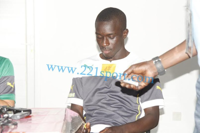 Idrissa Gana Guèye n'a pas trouvé le sommeil à la veille du match contre le Ghana