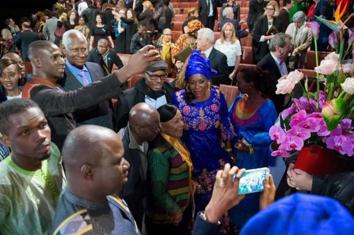 """Le Groupe """"Pape et Cheikh"""" invité du personnel de la Francophonie pour rendre hommage à Abdou Diouf"""