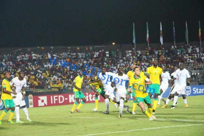 Les images du match Sénégal contre Afrique Du Sud (1-1)