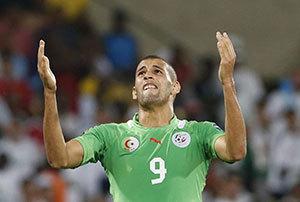Sénégal-Algérie : Islam Slimani forfait !