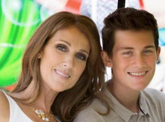 René-Charles : le fils de Céline Dion a grandi !