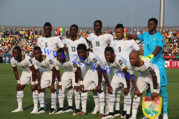 Groupe C,  3 ème journée : Ghana - Afrique du Sud