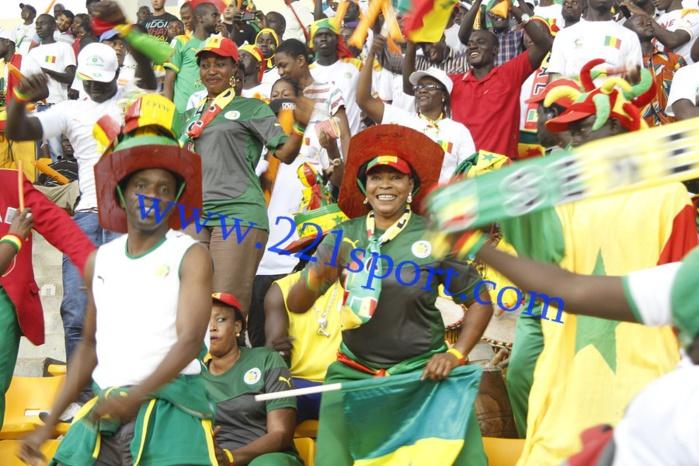 Les images de l'ambiance au stade de Malabo
