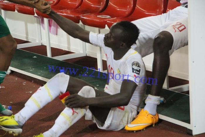 """Les images de la déception des """"Lions"""" du Sénégal"""