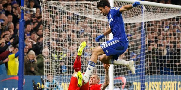 Diego Costa suspendu 3 matches après son comportement contre Liverpool !