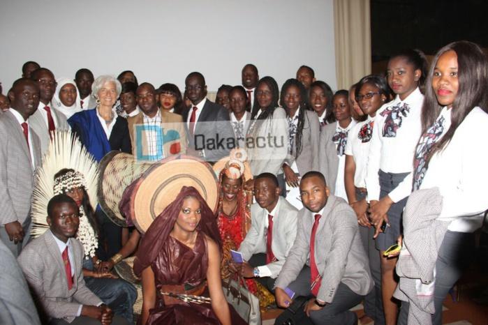 Conférence des Grandes Ecoles de Dakar : Mme Christine Lagarde incite les futurs leaders africains à croire en eux-mêmes