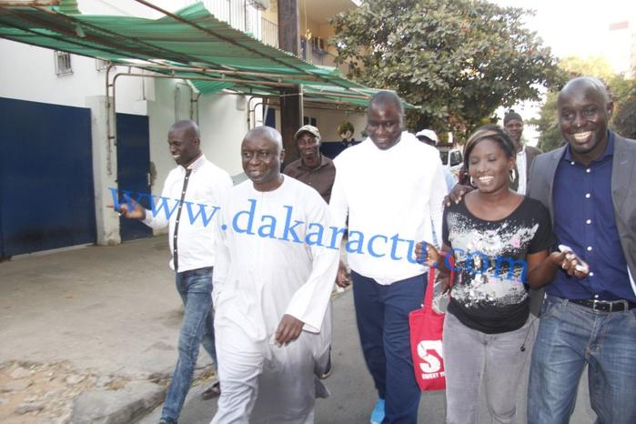 Idrissa Seck rend visite à Diop Decroix qui se plaint des dures conditions de sa détention