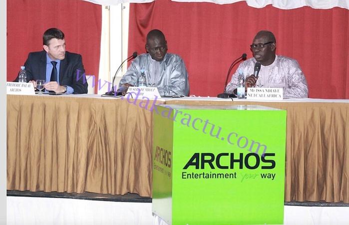 Les images du lancement de la marque ARCHOS au Radisson Blu