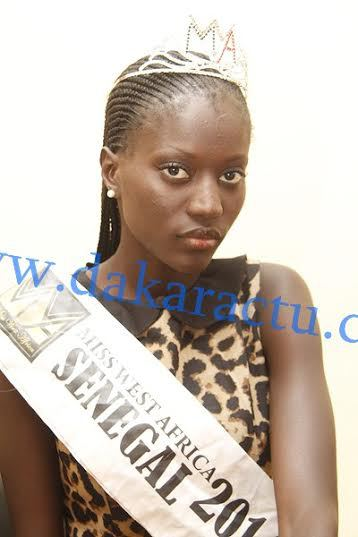 Scandale à l'élection « Miss West Africa » : Sophie Niang « Miss West Africa Sénégal 2014 » se livre