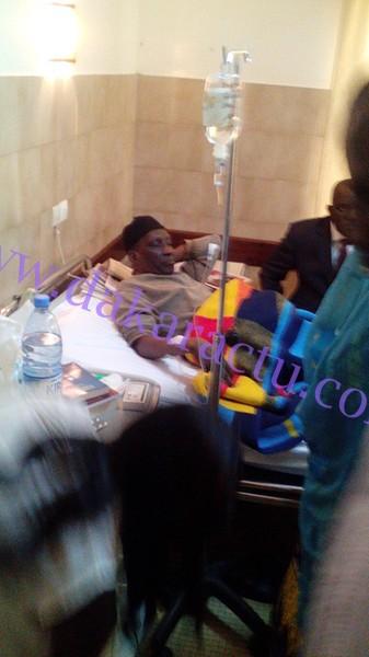 EXCLUSIF : les images de Mamadou Diop Decroix sur son lit d'hôpital