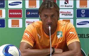 Hervé Renard : ''La Côte d'Ivoire a éliminé la meilleure équipe du tournoi''