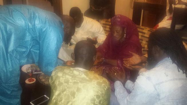 """Le leader de la génération consciente, Pape Diouf rend visite à Mohamed Ndao """"Tyson"""""""