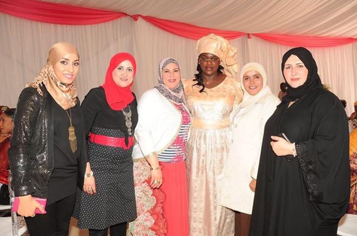 Déjeûner de nouvel an avec les épouses des ambassadeurs accrédités à Dakar, les épouses de présidents d'institutions et autres personnalités femmes du Sénégal