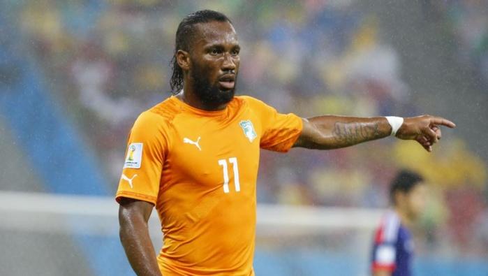CAN-2015 : Didier Drogba fou de joie après la victoire de la Côte d'Ivoire