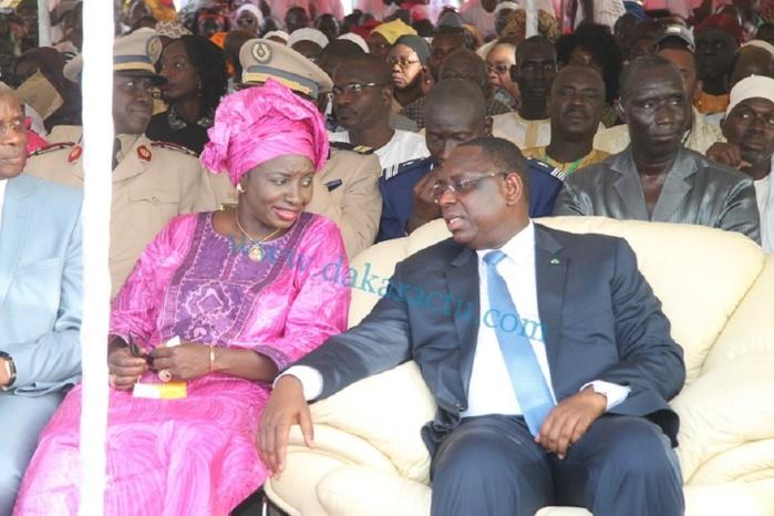 Mimi Touré nommée envoyée spéciale du président Macky Sall
