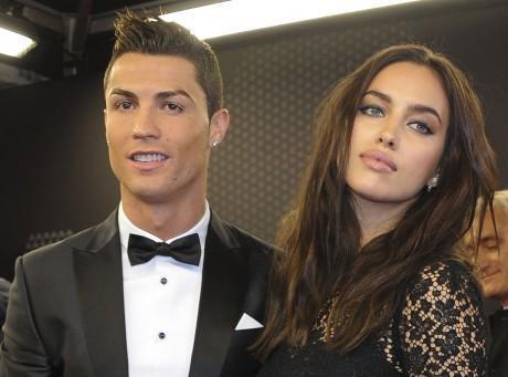 Irina prend la défense de Cristiano Ronaldo