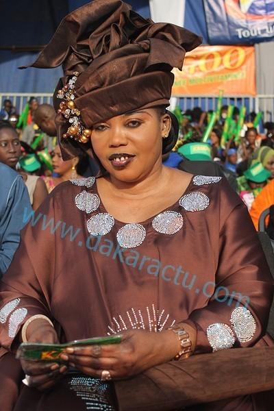 Le capitaine Babacar Diop, Dg du marché central au poisson convole avec la première Vice Présidente de l'Assemblée : Awa Guèye devient la deuxième épouse du capitaine Diop