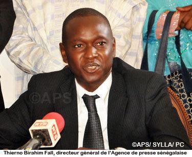 Thierno Birahim Fall, le DG de l'APS donne le nom de son fils à Macky Sall