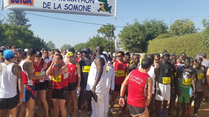 À bout de force, elle finit son marathon à quatre pattes