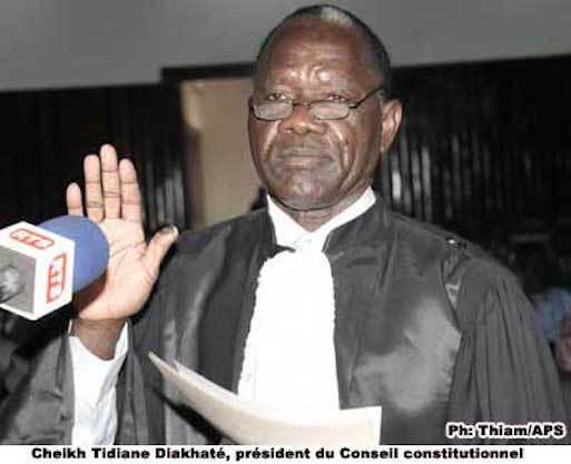 Conseil Constitutionnel : Ça manœuvre ferme pour la succession de Cheikh Tidiane Diakhaté