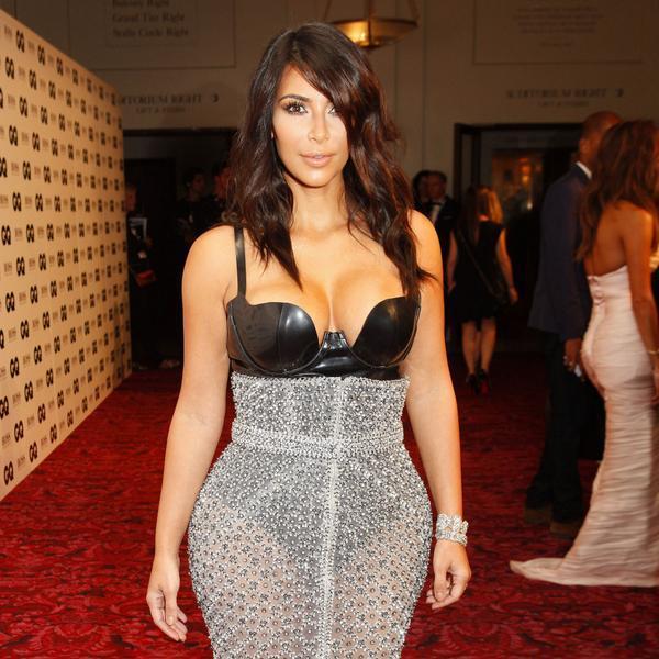 La tenue de Kim Kardashian ne cachait rien