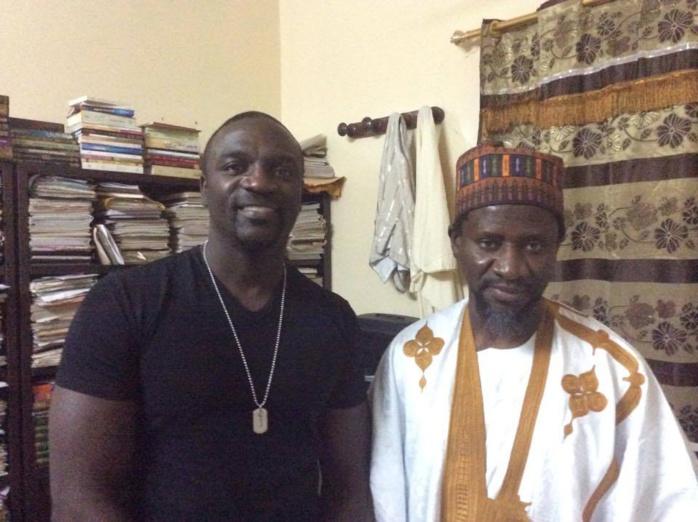 Les images de l'installation des panneaux solaires offerts par Akon et Cheikh Maye Cissé à Keur Alhaji Samba