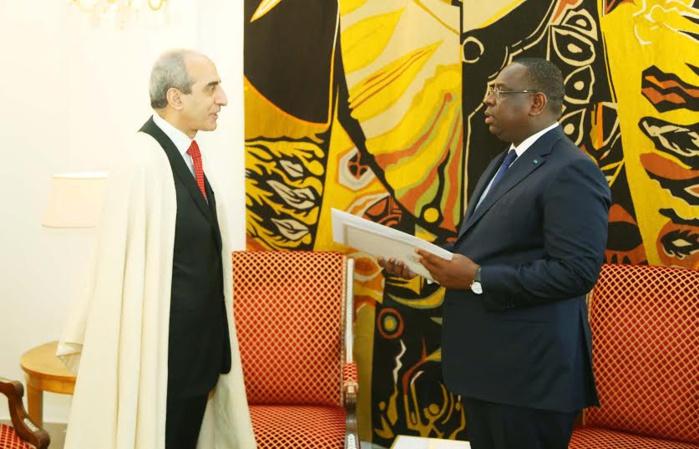 Lettres de Créance de Son Excellence M. Boualene Hacene, Ambassadeur de la République algérienne démocratique et populaire