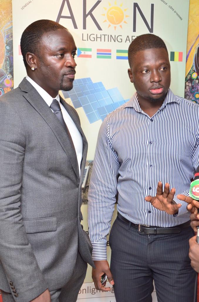 Akon et Thione Niang, deux dignes représentants du Sénégal aux USA
