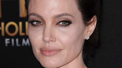 Angelina Jolie sans maquillage
