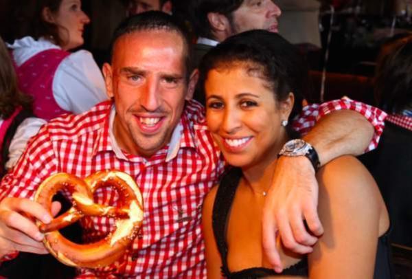 Franck Ribéry papa : sa femme Wahiba enceinte de sept mois