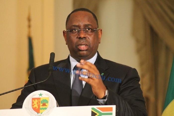 Audience des enfants du Président Abdou Diouf
