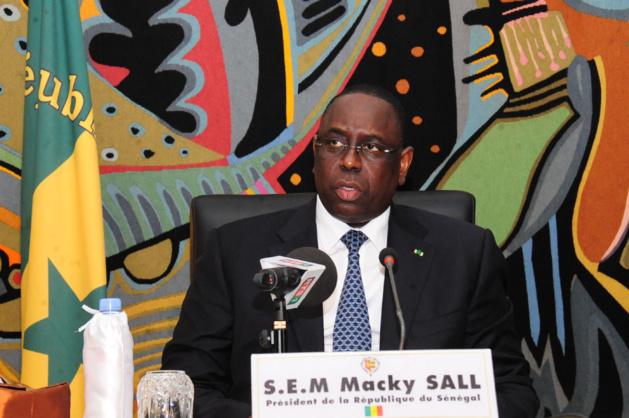 Message du Chef de l'Etat Macky SALL aux Lions U 20 du Football et aux sélections féminines et masculines de Handball qualifiées pour les Jeux Africains de Brazzaville 2015